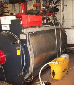Промывка котлов и теплообменников